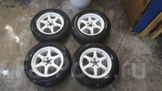Комплект зимних колес B. I. M. R16 7j +30 5x100 + Blizzak VRX 215/60-16. 7.0x16 5x100.00 ET30
