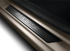 """Накладки на пороги """"Renault"""" 2шт черные Logan II/Sandero II 8201319784"""
