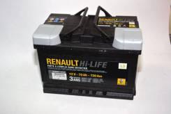 Аккумуляторная батарея 12V 70Ah 720A экв. 6001547711 7711238598
