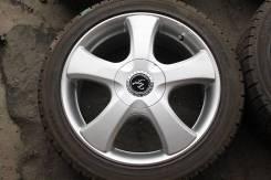 Новые литые диски R17 с новыми шинами 215/40R17. 7.0x17 5x100.00, 5x114.30 ET48. Под заказ