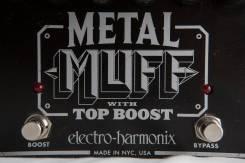 Гитарная педаль Electro Harmonix Metal Muff with top boost