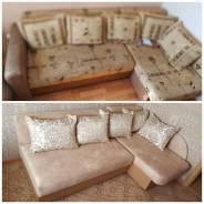 Перетяжка, ремонт и изготовление мягкой мебели