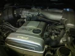 Двигатель в сборе. Toyota Crown, JZS141 Двигатель 2JZGE