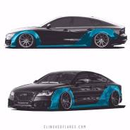 Clinched Audi A7RS7 widebody kit. Audi. Под заказ