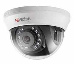 Hikvision HiWatch DS-T101 1Мп внутренняя купольная HD-TVI камера. Менее 4-х Мп, с объективом