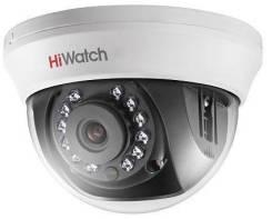 Hikvision HiWatch DS-T201 2Мп внутренняя купольная HD-TVI камера. Менее 4-х Мп, с объективом