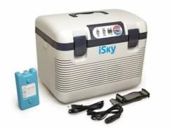 Холодильник автомобильный iSky, 18 л, пластиковый, с аккумулятором холода iSky iREF-18