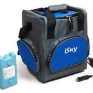 Холодильник автомобильный iSky, 16 л, сумка, с аккумулятором холода iSky iREF-16