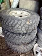 Продам колеса на уаз. эскудо грязевые. 7.0x5 ET0
