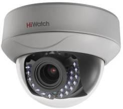 Hikvision HiWatch DS-T207 (2.8-12мм) 2Мп внутр. купол. HD-TVI камера. Менее 4-х Мп, с объективом