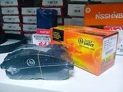 Колодки тормозные дисковые. Nissan Teana, J31, J31Z, J32, J32R, PJ32, TNJ32 Infiniti G35, V35 Двигатели: QR20DE, QR25DE, VQ23DE, VQ25DE, VQ35DE