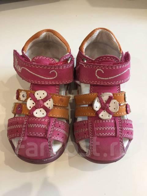 8ed196208 Продам кожаные сандали для девочки - Детская обувь во Владивостоке