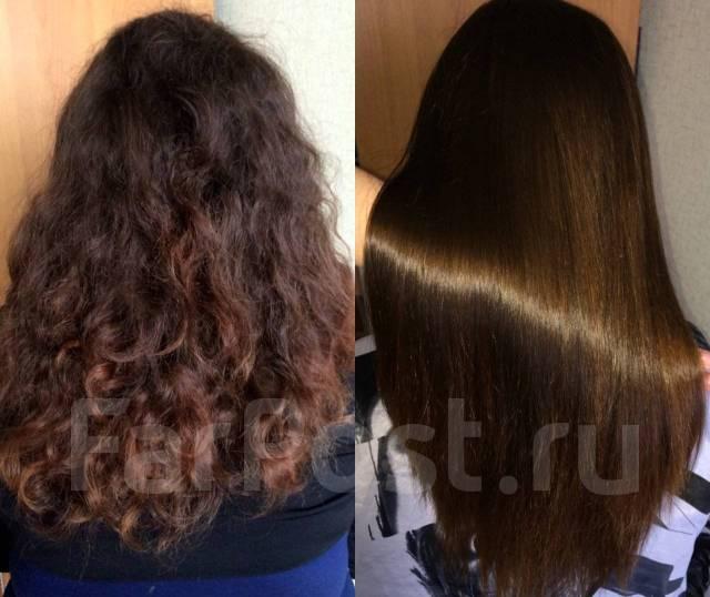 Уход за волосами после нанопластики волос
