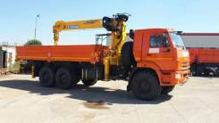 Soosan SCS 746L. Камаз 43118-3090-46 + КМУ Soosan SCS746L Top (верхнее управление), 7 000 кг., 19 м.