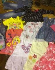 Детские вещи на девочку. Рост: 80-86 см