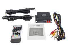 Цифровой TV тюнер Для Автомагнитол И Мониторов /DVB T2/USB (2 антенны)
