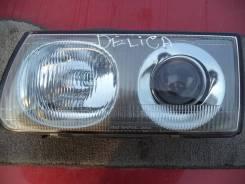 Фара. Mitsubishi Delica, P25W, P35W