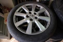 Комплект колес на 17 toyota. 7.0x17 5x114.30 ET40 ЦО 60,1мм. Под заказ