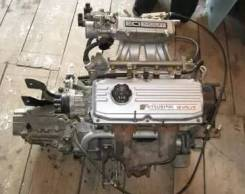 Двигатель в сборе. Mitsubishi Colt Двигатель 4G15