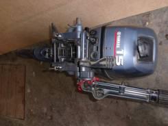 Yamaha. 15,00л.с., 2х тактный, бензин, нога S (381 мм), Год: 2008 год