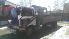 Nissan Diesel. Продам с крановой установкой Super FX 300, 7 000 куб. см., 3 000 кг.