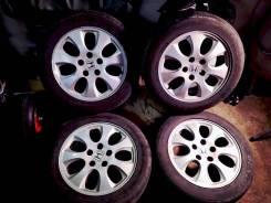 Оригинальные колеса Honda 205/55 r16. 6.5x16 5x114.30 ET55 ЦО 64,1мм.