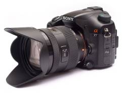 Sony Alpha SLT-A77. 20 и более Мп, зум: 14х и более