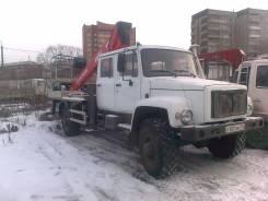 ГАЗ-33081. Автовышка, 117 куб. см., 17 м.