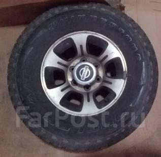 Продам комплект колёс 265/70 R15 (№3). 15.0x15 6x139.70 ET0 ЦО 100,0мм.