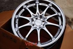 NEW! =RAYS VOLK Racing CE28= R17 4x100-114,3 *MATT Silver* [VSE-4]. 8.0x17, 4x100.00, 4x114.30, ET35, ЦО 73,1мм.