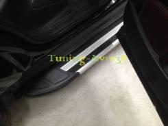 Подножка. Toyota RAV4 Toyota Hilux Toyota Highlander Volkswagen Amarok Volkswagen Tiguan Volkswagen Touareg Kia Sportage Kia Sorento Volvo T5 Chevrole...