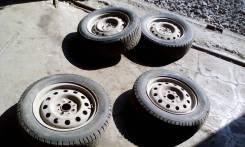Bridgestone Ice Cruiser 5000. Зимние, шипованные, 2014 год, износ: 30%, 4 шт