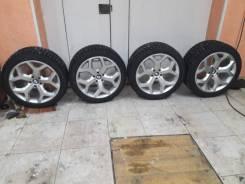 Комплект колес BMW X5 X6 разноширокие Зимние. 10.0x20 5x120.00 ET48