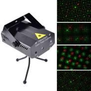 Светомузыка лазерный проектор DJ Stage, NEW. Под заказ