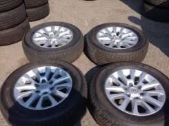Новые колеса + датчики R18 Toyota Prado GX460 + 265/60 R18 Dunlop AT22. 7.5x18 6x139.70 ET25
