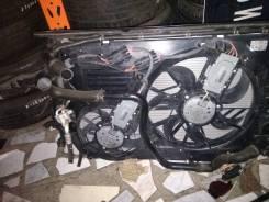 Вентилятор радиатора кондиционера. Audi Q7 Porsche Cayenne Двигатели: BAR, BHK, BTR, BUG, BUN