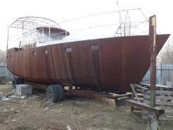 Яхта новая , река - море . Год: 2017 год, длина 14,00м., двигатель стационарный, 150,00л.с., дизель. Под заказ