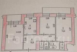 Продам 3-хкомнатную квартиру.