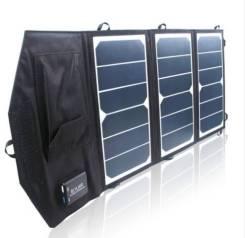 Раскладная Солнечная батарея 20Вт для зарядки мобильных устройств