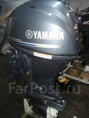 Yamaha. 40,00л.с., 4х тактный, бензин, нога L (508 мм), Год: 2015 год