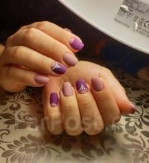 Наращивание ногтей, маникюр, гель лак