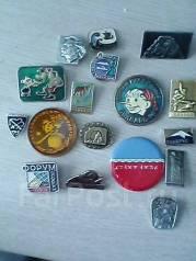 Набор советских значков