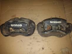 Суппорт тормозной. Nissan Skyline, ER33, ER32, ER34, FR32, ECR32, HR34, HR33, ENR34, HCR32, HR32