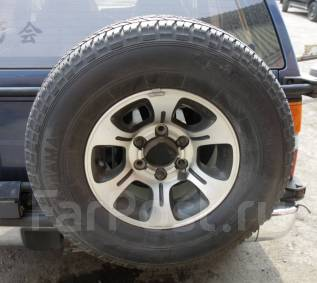 Запасное колесо 265/70R15. 7.0x15 6x139.70 ET10
