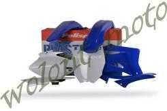 Комплект пластика YZ250F/450F 06-09 синий с белым Polisport 90117
