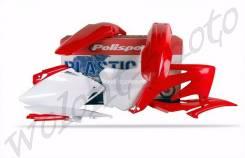 Комплект пластика Polisport 90175 Красный HONDA CRF450R 2008