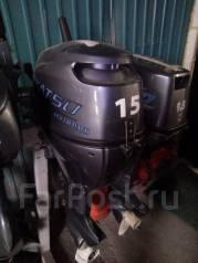 Mikatsu. 15,00л.с., 4х тактный, бензин, нога S (381 мм), Год: 2016 год