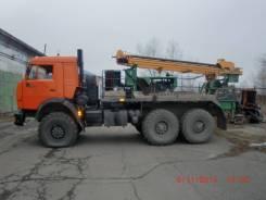 АТЗ ПБУ-2. Продается буровая установка ПБУ-2 на Камаз-43114-15, 10 857 куб. см., 12 000 кг.