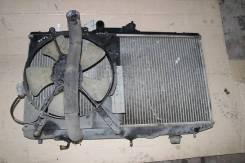 Радиатор охлаждения двигателя. Toyota Sprinter Marino, AE101