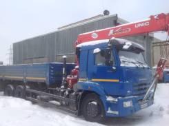 Камаз 65117. Продаётся с КМУ Unic, 6 700 куб. см., 14 000 кг.